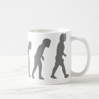 LINUX TUX EVOLUTION COFFEE MUG