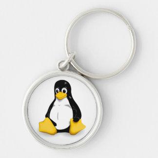 Linux Tux Key Chains