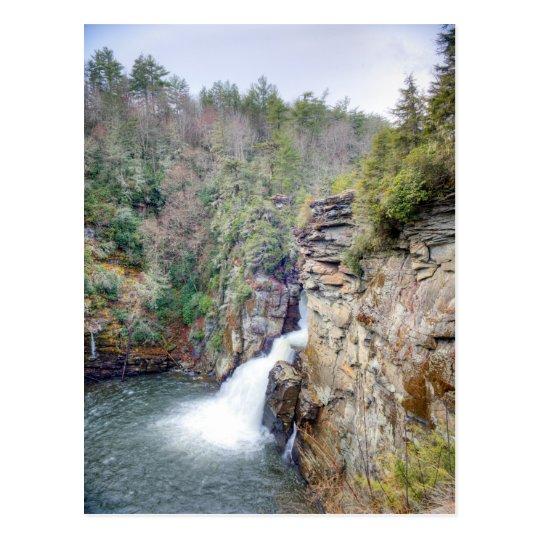 Linville Falls Plunge Basin Overlook Postcard