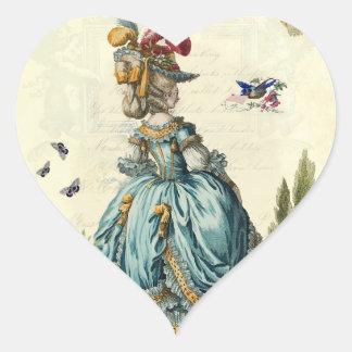 l'invitation (heart) stickers