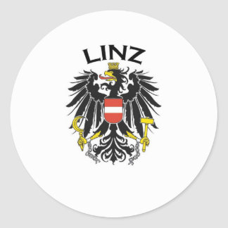 Linz, Austria Round Sticker