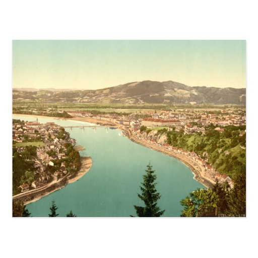 Linz in Austria Postcards