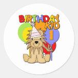 Lion 1st Birthay Sticker