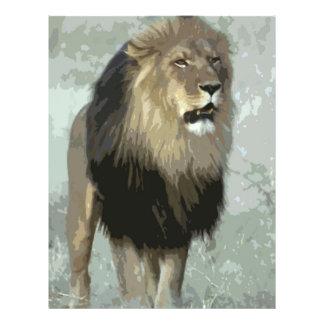 Lion 21.5 Cm X 28 Cm Flyer