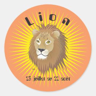 Lion 23 juillet outer 22 août Autocollants