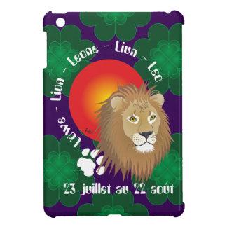 Lion 23 juillet outer 22 août iPad mini covering iPad Mini Case