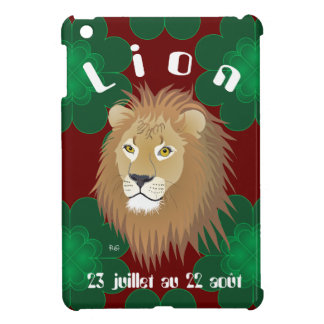 Lion 23 juillet outer 22 août iPad mini covering iPad Mini Cover