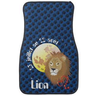 Lion 23 juillet outer 22 août tarpun by car floor mat