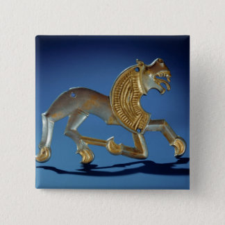 Lion, 6th- 7th century BC 15 Cm Square Badge