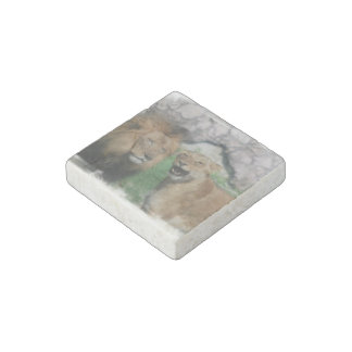 lion-90 stone magnet