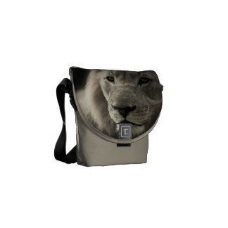 Lion Africa Cat Animal Pattern Destiny Destiny's Messenger Bags