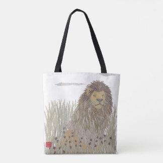 Lion, African Animal, Wild Life Tote Bag