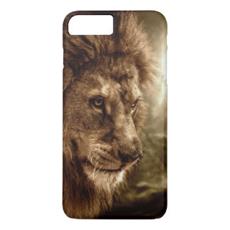 Lion against stormy sky iPhone 8 plus/7 plus case
