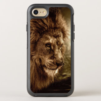 Lion against stormy sky OtterBox symmetry iPhone 8/7 case