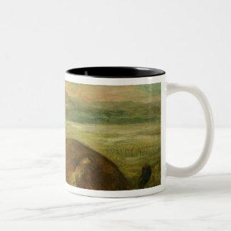 Lion and Alligator, 1863 Coffee Mugs