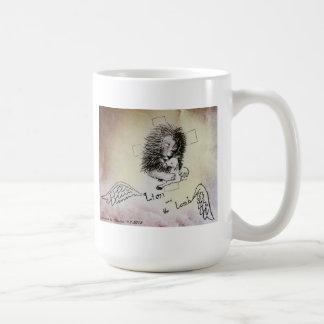 Lion and Lamb Basic White Mug