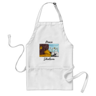 Lion and Lamb Gentle Peace Standard Apron
