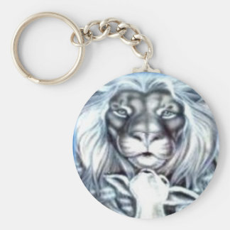 Lion and Lamb Key Ring