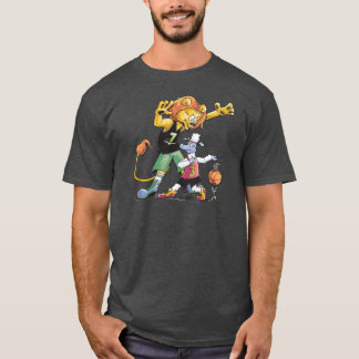 Lion and Sheep Basketball T-Shirt