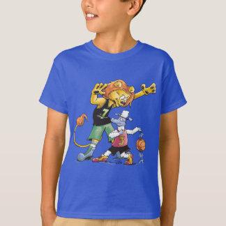 Lion and Sheep Basketball T-Shirt