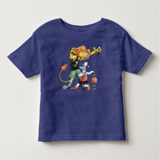 Lion and Sheep Basketball Toddler T-Shirt