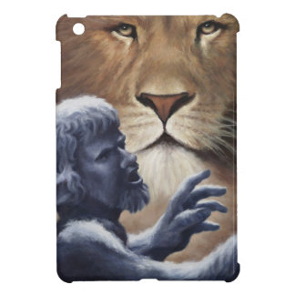 Lion and Statue Case For The iPad Mini