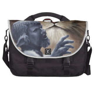 Lion and Statue Bag For Laptop