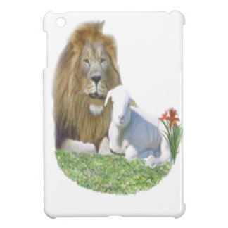 Lion and the lamb Christian gifts iPad Mini Covers