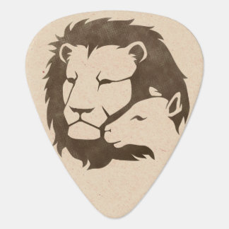 Lion and the Lamb Guitar Pick