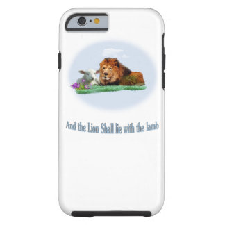 Lion and the Lamb Tough iPhone 6 Case