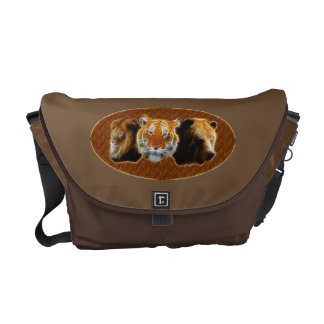 Lion And Tiger And Bear Commuter Bag