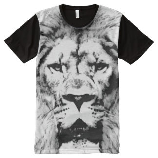 lion, animal face All-Over print T-Shirt