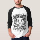 Lion Arabic Calligraphy T-shirt (With saying)