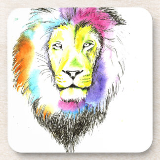 lion art coaster