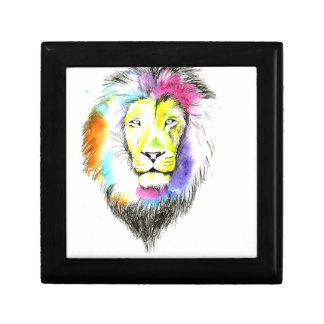 lion art gift box