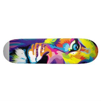 Lion Art perfect skateboard