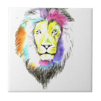 lion art tile