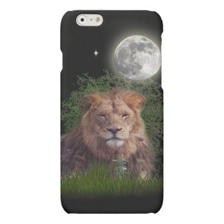 lion at night i-pad iPhone 6 plus case