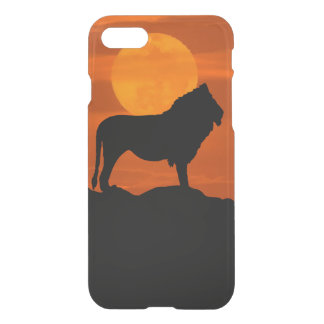 Lion at sunset iPhone 7 case