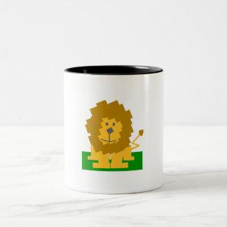 Lion Avatar Coffee Mugs