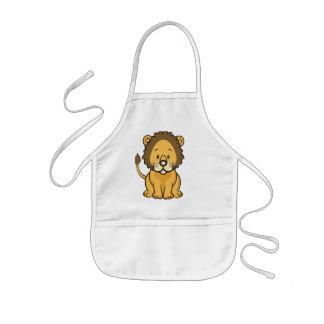 Lion baby Apron
