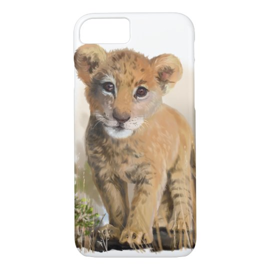 Lion baby iPhone 7 case