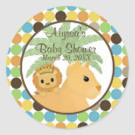 LION Baby Shower Invitation King of the Jungle