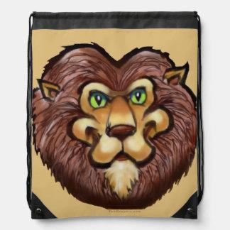 Lion Drawstring Bags