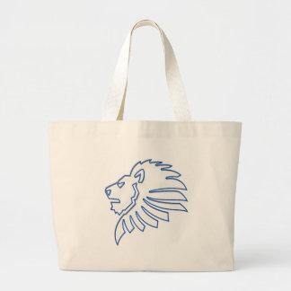 Lion Canvas Bags