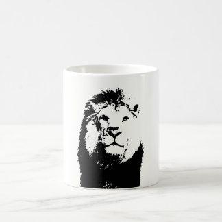 Lion Basic White Mug
