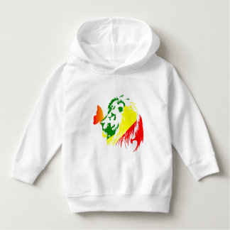 LION BUTTERFLY FLY HOODIE