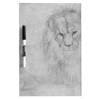 Lion by Albrecht Durer Dry Erase Board