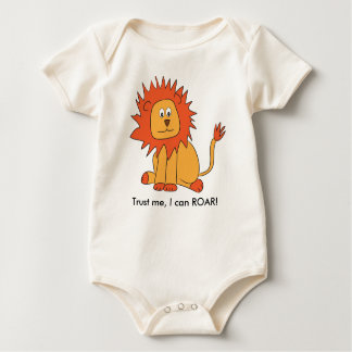 Lion can ROAR baby outfit Bodysuit