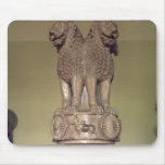 Lion capital from the Pillar of Emperor Ashoka Mouse Mat